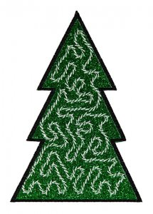 BFC1618 Patchwork Christmas Trees 11