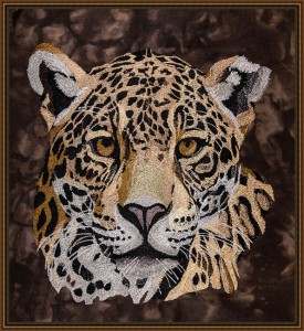 BFC1672 Large Jaguar Portrait