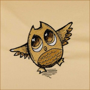 BFC1692 Sketchy Pals - Filled Version - Owl
