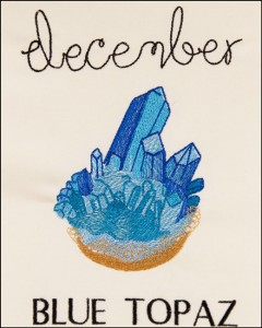 Birthstone Gems- December