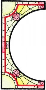 BFC1755 Stained Glass Circles and Frames - 02