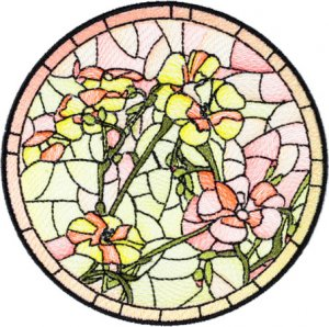 BFC1755 Stained Glass Circles and Frames - 05