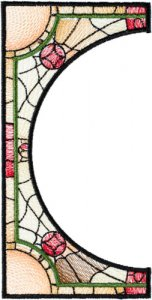 BFC1755 Stained Glass Circles and Frames - 08