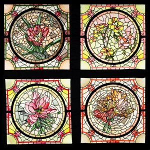 BFC1755 Stained Glass Circles and Frames - Part 1