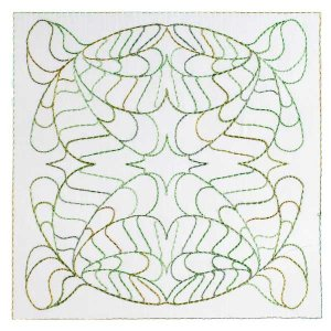 Art Nouveau Ornamental Quilt Blocks 9&10
