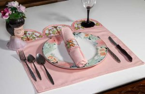 BFC1908 Art Nouveau Stained Glass Placemats