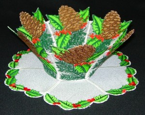 BFC0200 Lace Bowl-Winter