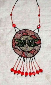 Embroidered and Beaded Necklaces