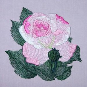 BFC0300 Watercolor Roses