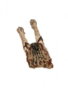 BFC31343 Leaping Cat Pocket topper