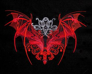 Dragon Wings of Red