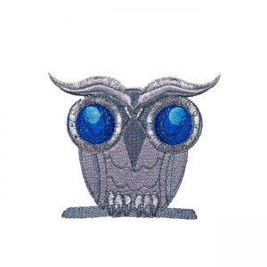 BFC31555 Silvery Little Owl