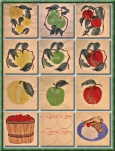 BFC0357 Apple Harvest Designs