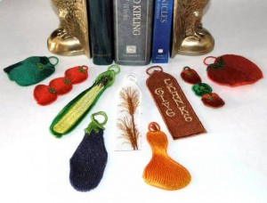 BFC0364 Veggie Bookmarks
