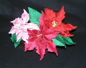 BFC0374 Poinsettias