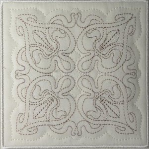 BFC0466 Art Nouveau Quilt in the Hoop