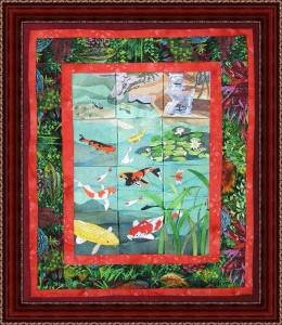 BFC0508 Window - Koi Pond
