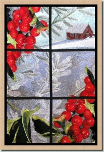 BFC0531 Stained Glass-Winter Medley