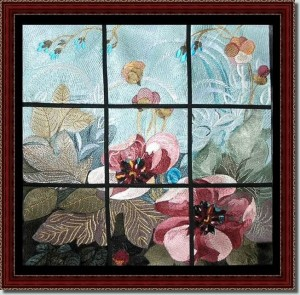 BFC0533 Window - Floral Expressions I