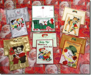 BFC0619 Postcards-Christmas Kids