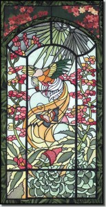 BFC0635 Stained Glass- Pheasant
