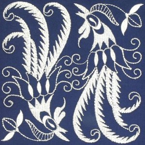 BFC0637 Chinese Indigo - Quilt Blocks I