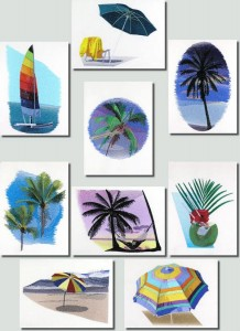 BFC0726 Tropical Getaway Designs