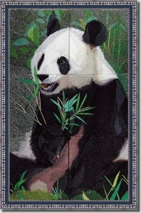 BFC0861 Window-Giant Panda