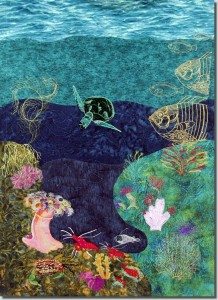 BFC0868 Art Quilt - Undersea Fantasy Design Pack 1
