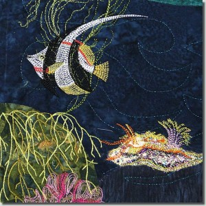 BFC0869 Art Quilt - Undersea Fantasy Design Pack 2