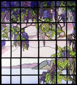 BFC0890 QIH Stained Glass - Wisteria