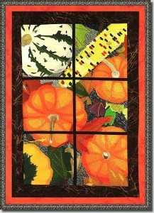 BFC0891 Window- Pumpkin Splendor