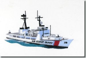 BFC0941 Three Coast Guard Vessels