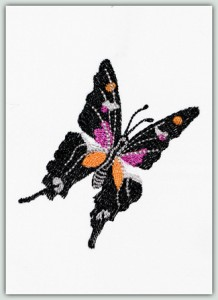 Black & Orange Butterfly