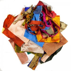 Silk Scrap Grab Bag