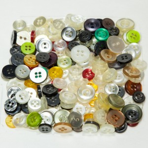 Vintage Acrylic Buttons - Shirt Buttons