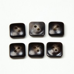 Vintage Acrylic Buttons - Brown Agate