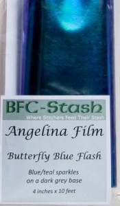 Butterfly Blue Flash