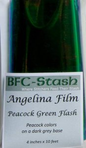 Peacock Green Flash