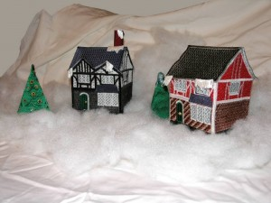 BFC0512 Christmas Village-Tudor House