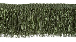 Multiple Strand Lush Fringe - Green