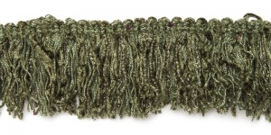 Brush Fringe - Medium Loden Green