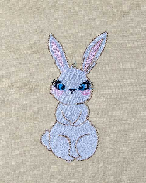 BFC31538 Surprised Bunny