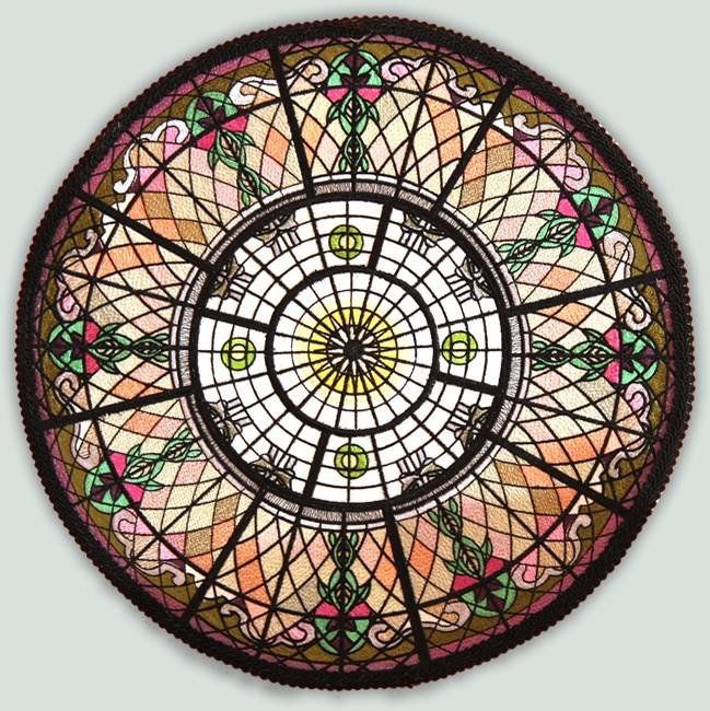 BFC1024 QIH-Peruvian Rose Window