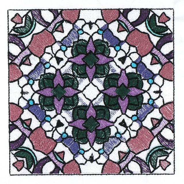 BFC30666 BFC1025 Stained Glass Tiles II - 03