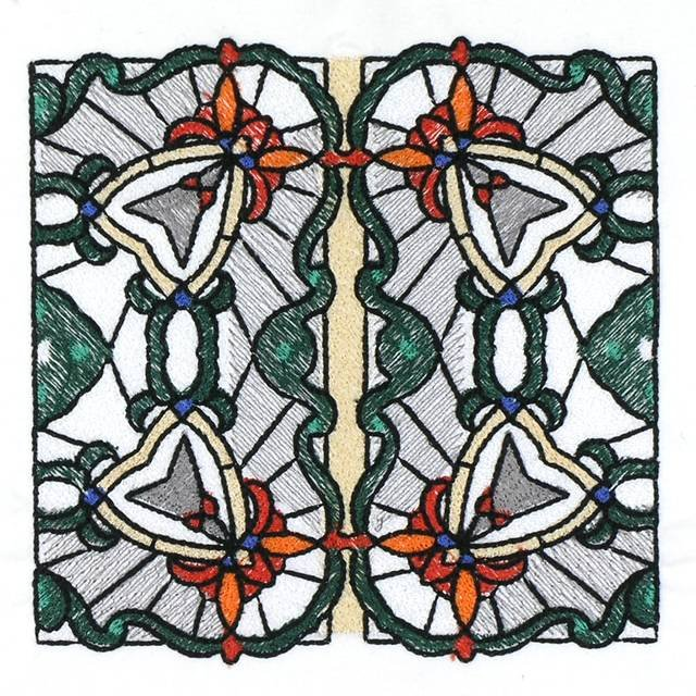 BFC1025 Stained Glass Tiles II