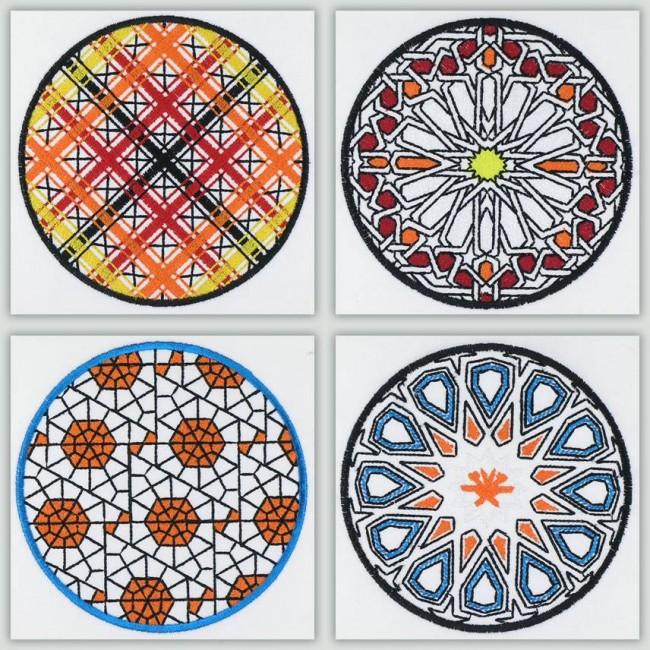 Bfc geometric quilt circles