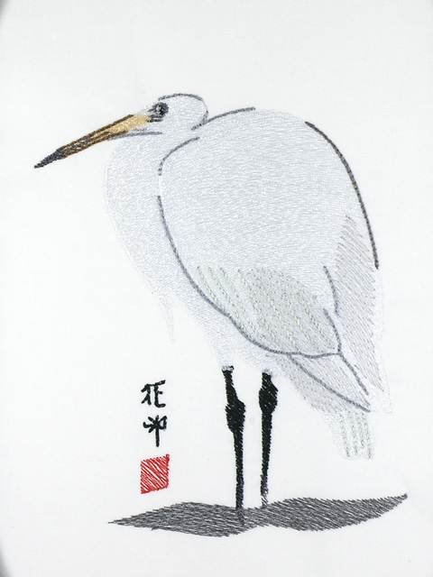 BFC1055 Birds in an Oriental Manner