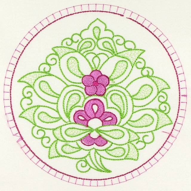 BFC1088 Turkish Delight Quilt Circles