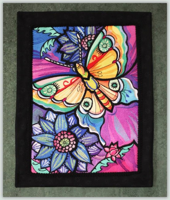 BFC1135 Ching Chou's Stained Glass Butterfly I